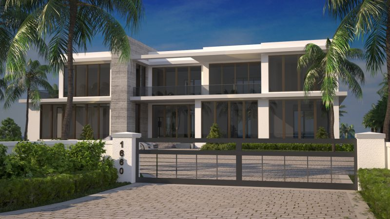 360 Rendering of one of our Modern Contemporary Residences